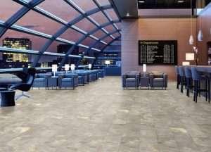 Kompozitná podlaha Design+ Large Bridlica farbistá ED4044 - vizualizácia