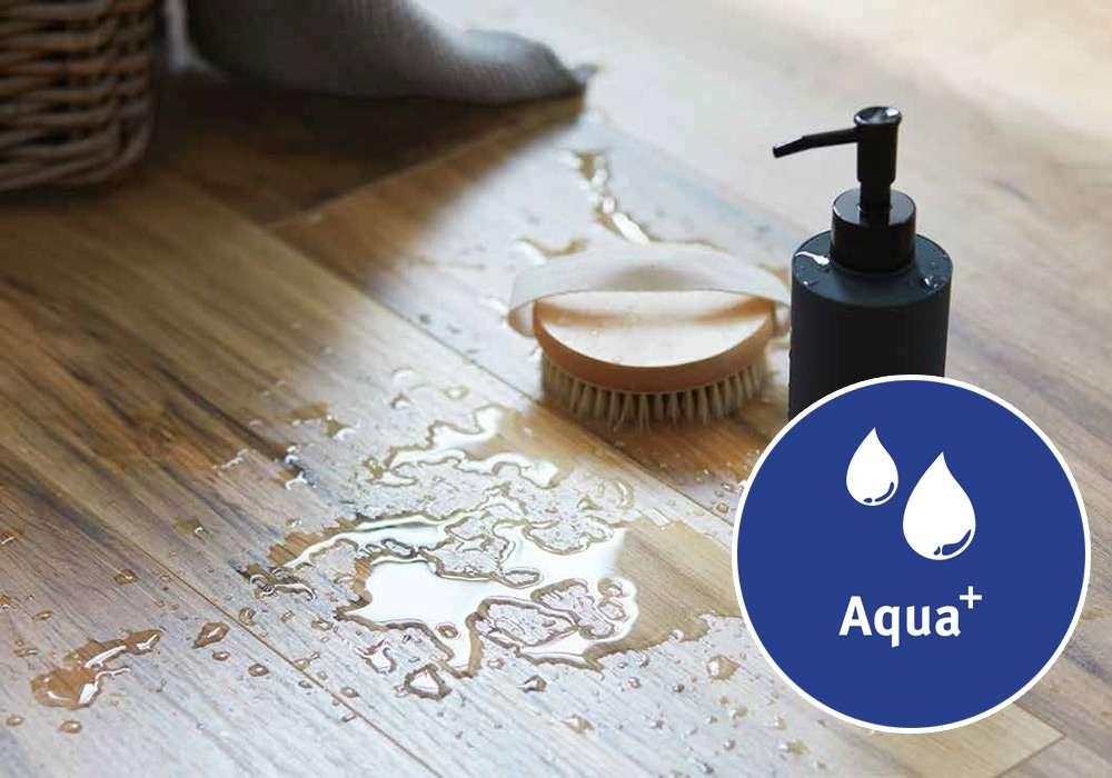 Laminátové podlahy Aqua+